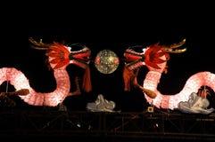 Dragon light portal Stock Image