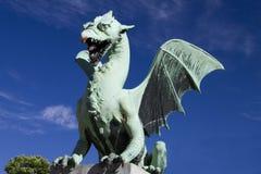 Dragon ljubljana (Zmajski most) Royalty Free Stock Images