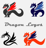 Dragon Logos Royalty-vrije Stock Afbeelding