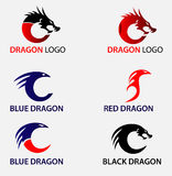 Dragon Logos Royalty Free Stock Images