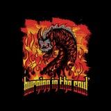 Dragon Magma vector illustration design vector illustration