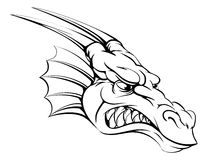 Dragon mascot Stock Photo