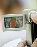 A Dragon Mascot seen through a digital camera Stock Photos