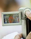 A Dragon Mascot seen through a digital camera Stock Photos