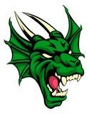 Dragon Mean Animal Mascot Imagenes de archivo