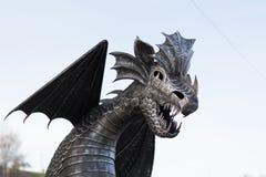 Dragon Metal Stock Afbeelding