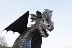 Dragon Metal stock image