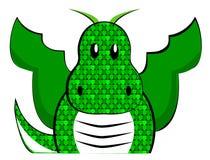 Dragon mignon Images libres de droits