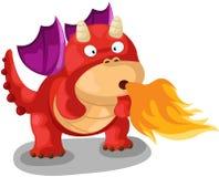 Dragon mignon Photo libre de droits