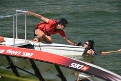 Dragon Mishap na regata 2013 do rio de DBS Imagens de Stock Royalty Free