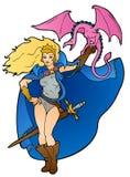 Dragon Mistress Fotografia de Stock Royalty Free