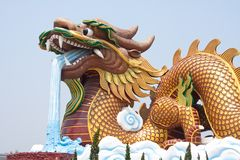 Dragon Monument. Royalty Free Stock Photos