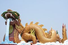Dragon Monument. Royalty Free Stock Images