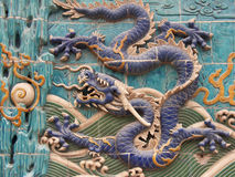 Dragon Mural 2 Stock Images