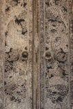 Dragon mural Door Stock Images