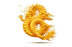 Dragon. Is mythical creatures and emblem of wealthy Stock Photography