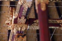 Dragon mythology of Bali Stock Photo