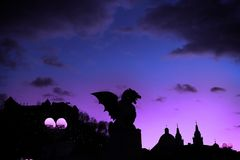Dragon of the Night Royalty Free Stock Images