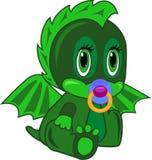 Dragon nouveau-né Images libres de droits