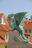 Dragon On A Bridge Stock Photography