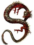 Dragon oriental Photographie stock