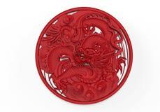 Dragon ornament Stock Image