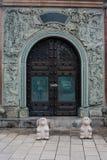 Dragon ornemental de sculpture en Malaisie Images stock