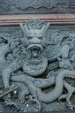 Dragon ornemental de sculpture en Malaisie Images libres de droits