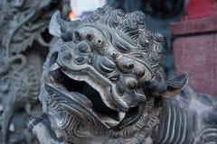 Dragon ornemental de sculpture en Malaisie Image libre de droits