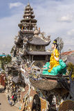 Dragon pagoda in Vietnam Stock Photos