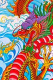 Dragon painting Stock Images