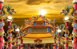Dragon palace royalty free stock image