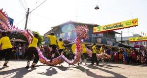 Dragon Parade hermoso Imagen de archivo