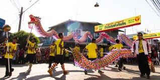 Dragon Parade hermoso Fotografía de archivo libre de regalías
