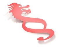 Dragon Paragraph: Legge in Cina Fotografie Stock