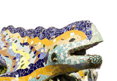 Dragon in Park Güell (Barcelona) Royalty Free Stock Photos