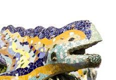 Dragon in Park Güell (Barcelona) Royalty Free Stock Photos