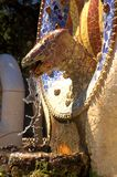 Dragon in Park Guell Royalty Free Stock Photography