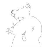 Dragon Path illustration stock