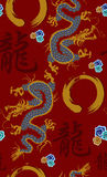 Dragon pattern background Stock Images