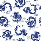 Dragon pattern Stock Photos