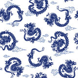 Dragon pattern Royalty Free Stock Photos