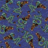 Dragon pattern Stock Image