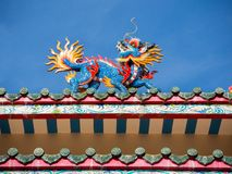 Dragon pavilion Stock Photography