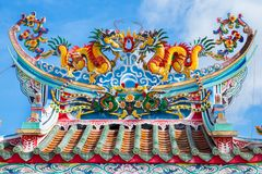 Dragon pavilion Royalty Free Stock Photo