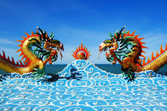 Dragon Phet Buri. Thailand. Royalty Free Stock Photo