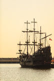 Dragon pirate ship in Gdynia on 13 Juny 2015, Poland Royalty Free Stock Image