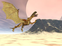 Dragon Plateau Stock Photo
