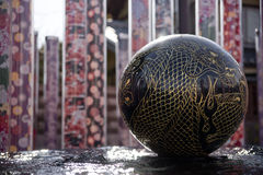 Dragon Pond. At Saga Arashiyama, Kyoto Stock Photography