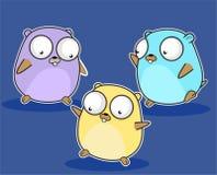 Hamsters cute animal cartoon vectors vector illustration